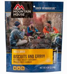 camping food and backpacking food mountain house