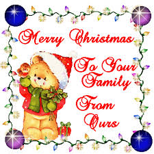 merry to your family from ours pictures photos and