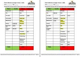 debt dilemmas skills workshop
