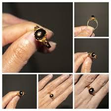 golden hand ring holder images 57 best star rubies images burmese silver rings jpg