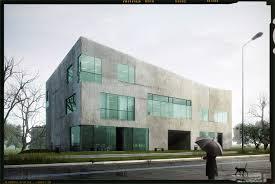 office building exterior portfolio work evermotion