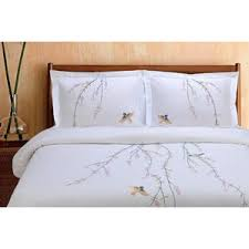 Perry Ellis Asian Lilly 3 Piece Mini Duvet Cover Set Nature U0026 Floral Duvet Cover Sets You U0027ll Love Wayfair