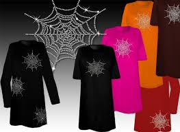 3x Size Halloween Costumes Sale Sparkly Rhinestud Rhinestone Spider Halloween Costume