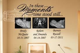 in these moments time stood still vinyl wall decal in these zoom