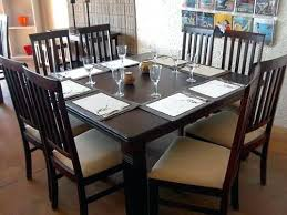 Types Of Dining Room Furniture Types Of Dining Tables Dining Table With 4 Simple Legs Types Of
