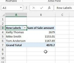 Pivot Table In Excel 2013 How To Create A Pivot Table In Excel 2013 Solve Your Tech