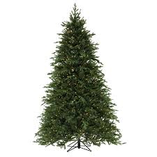 shop sylvania 7 1 2 festive fir artificial tree with
