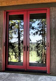 Screen Doors For Patio Doors Vanishing Retractable Screen Doors Authorized Mirage Dealer