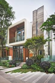 Modernhouse by 20 Exterior Pictures Of A Modern House Development In China By