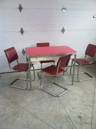 Table And Chairs Kitchen by 403 Best Vintage And New Chrome Kitchen Tables And Chairs Images
