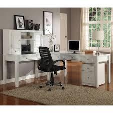 Desk L Shape White L Shaped Computer Desk With Hutch Best Home Furniture