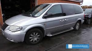 chrysler grand voyager 3 3l petrol 4 speed auto 2004