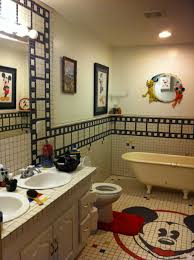 mickey mouse clubhouse bathroom decor mickey mouse club house