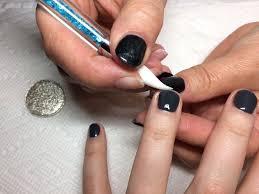 mirror powder nails chrome and magic powder too