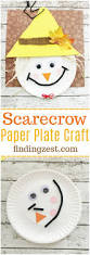 paper plates thanksgiving scarecrow paper plate craft for thanksgiving paper plate crafts