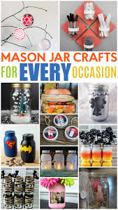 mason jar crafts for every occasion a little craft in your day