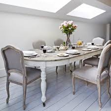 round extending dining room table and chairs extendable dining table lime white washed top and painted