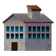 house emoji derelict house building emoji for facebook email sms id 12749