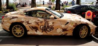ferrari custom paint camouflaged supercars pic 11 sssupersports