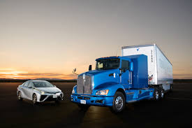 toyota site photo gallery toyota rolls out hydrogen electric class 8 truck
