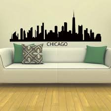 london skyline vinyl wall decal sticker art decor bedroom design