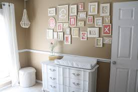 Baby Room Interior by Interior Beautiful Brown Baby Nursery Come With Nice Letter