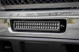 jeep light bar grill 20in dual row single row led light bar hidden bumper mounting