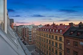 the apartment of 150 square meters in the attic in stockholm