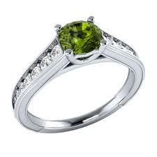 peridot engagement ring peridot engagement rings ebay
