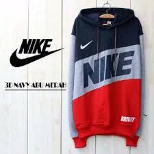 Jaket Nike Murah Bandung jaket nike combi finger navy grey pria wanita grosir murah bandung