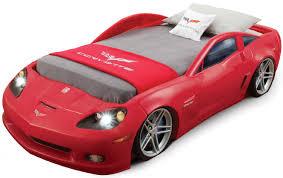 Corvette Bed Set Amazonsmile Step2 Corvette Bed With Lights Silver Black