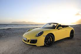 yellow porsche 911 porsche 911 carrera 4 gts cabrio racing yellow the new 911 gts