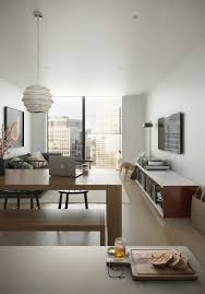 Dbox Rendering A One Bedroom Apartment At South Quay Plaza Dbox 2015 Rendering