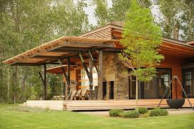 modern prefab cabin contemporary prefab home montana modern prefab modular homes