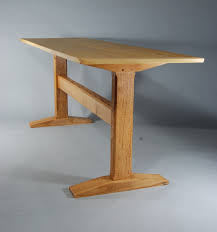 Fine Woodworking Pdf Download Free by Fine Woodworking Trestle Table Plans Plans Free Download