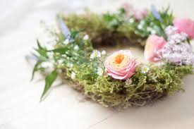 springtime flower wreath diy tutorial keep up with the jones family