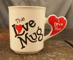 heart shaped mugs vintage the mug coffee mug tea cup heart shaped i