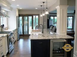 kitchen island columns kitchen column consultation incorporating columns into your design