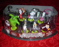 the nightmare before figure playset cake toppers disney