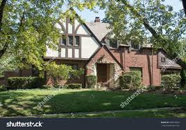 wooded old english tudor home stock photo 498519823 shutterstock