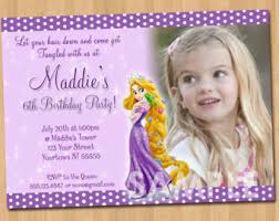 tangled birthday invitations tangled birthday invitations for