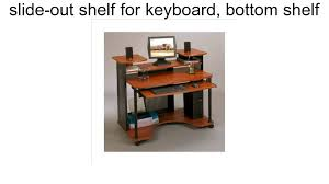 Computer Desk Work Station Modern Computer Desk Workstation Youtube