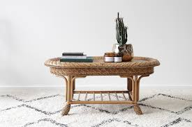 end tables and ls sienna coffee table naturally cane rattan and wicker furniture