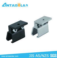 kliplok 406 standing seam roof clamps for deck roof solar mounting