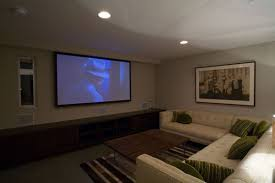 outdoor home theater design