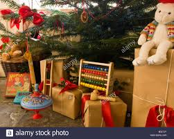 a selection of children u0027s old fashioned christmas presents