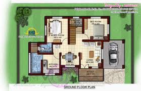 Sq Feet To Meters by 1170 Square Feet Floor Plan And Elevation Kerala Home Design And