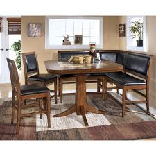 Kitchen Table Sets With Bench Modest Decoration Pub Style Dining Room Sets Pretentious