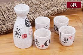 japanische k che vintage keramik willen topf und tassen mit zeichen gedicht