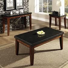 Polished Oak Desk Living Room Furniture Living Room Black Polished Oak Wood Coffee